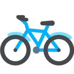 Bicycle mozilla emoji