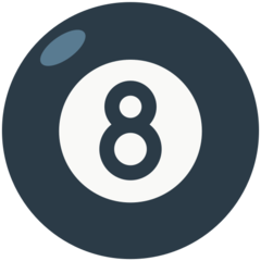 Billiards mozilla emoji