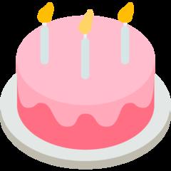 Birthday Cake mozilla emoji