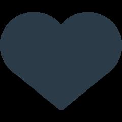 Black Heart Suit mozilla emoji