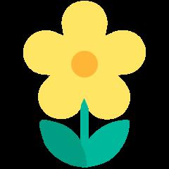 Blossom mozilla emoji