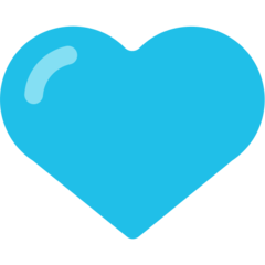 Blue Heart mozilla emoji