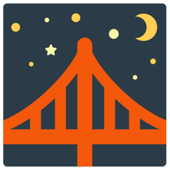 Bridge At Night mozilla emoji