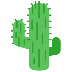 Cactus mozilla emoji