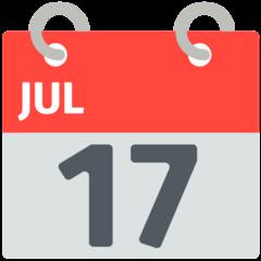 Calendar mozilla emoji