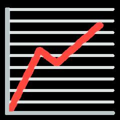 Chart With Upwards Trend mozilla emoji
