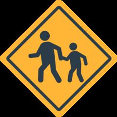 Children Crossing mozilla emoji
