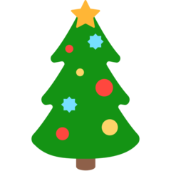 Christmas Tree mozilla emoji