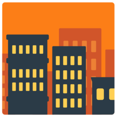 Cityscape At Dusk mozilla emoji