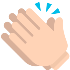 Clapping Hands Sign mozilla emoji