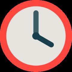 Clock Face Four Oclock mozilla emoji