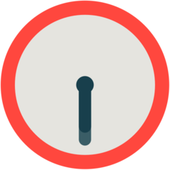 Clock Face Six-thirty mozilla emoji