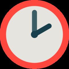 Clock Face Two Oclock mozilla emoji