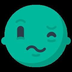 Confounded Face mozilla emoji
