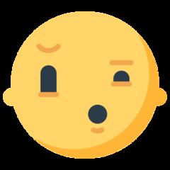 Confused Face mozilla emoji