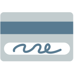 Credit Card mozilla emoji