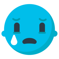 Crying Face mozilla emoji