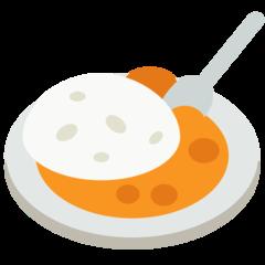 Curry And Rice mozilla emoji