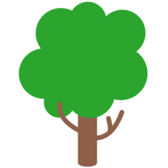 Deciduous Tree mozilla emoji