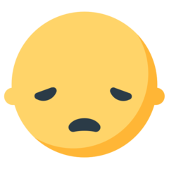 Disappointed Face mozilla emoji