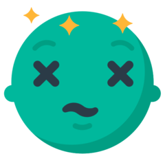 Dizzy Face mozilla emoji