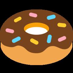 Doughnut mozilla emoji