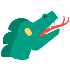 Dragon Face mozilla emoji
