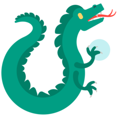 Dragon mozilla emoji