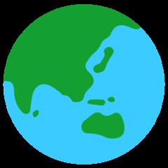 Earth Globe Asia-australia mozilla emoji