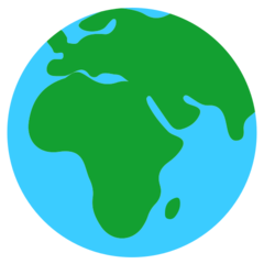Earth Globe Europe-africa mozilla emoji