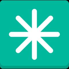 Eight Spoked Asterisk mozilla emoji