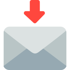 Envelope With Downwards Arrow Above mozilla emoji