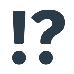 Exclamation Question Mark mozilla emoji