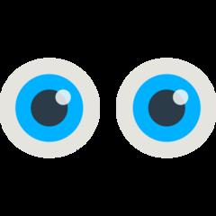 Eyes mozilla emoji