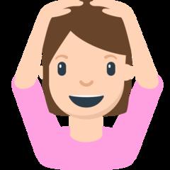 Face With Ok Gesture mozilla emoji