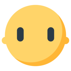 Face Without Mouth mozilla emoji