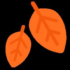Fallen Leaf mozilla emoji