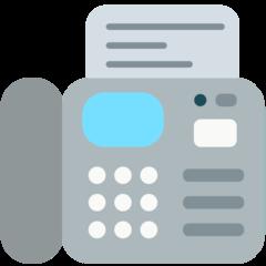 Fax Machine mozilla emoji