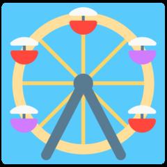 Ferris Wheel mozilla emoji