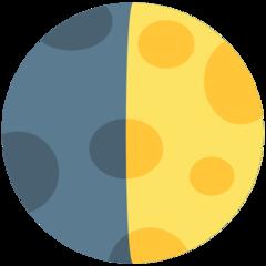 First Quarter Moon Symbol mozilla emoji