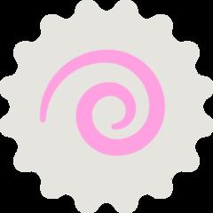 Fish Cake With Swirl Design mozilla emoji