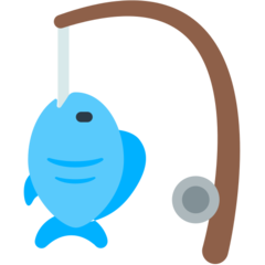 Fishing Pole And Fish mozilla emoji