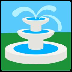 Fountain mozilla emoji
