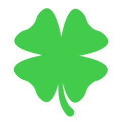Four Leaf Clover mozilla emoji