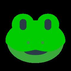 Frog Face mozilla emoji