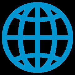 Globe With Meridians mozilla emoji