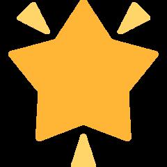 Glowing Star mozilla emoji