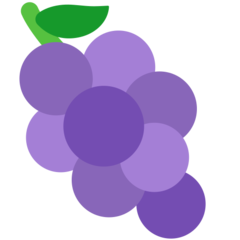 Grapes mozilla emoji