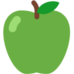 Green Apple mozilla emoji