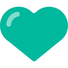 Green Heart mozilla emoji